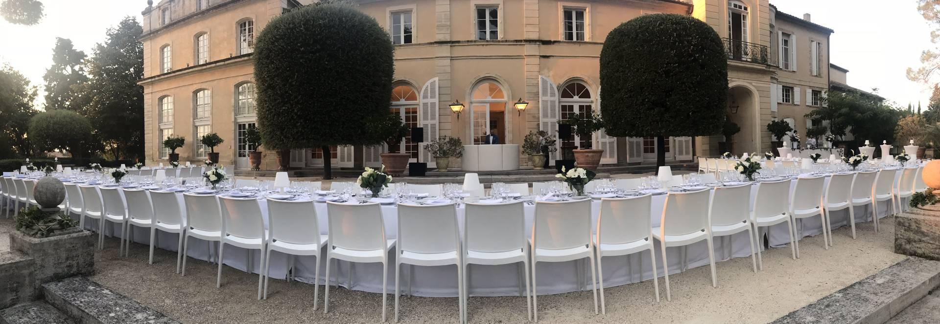 Visuel d'un mariage au Château de la Nerthe, Châteauneuf du Pâpe